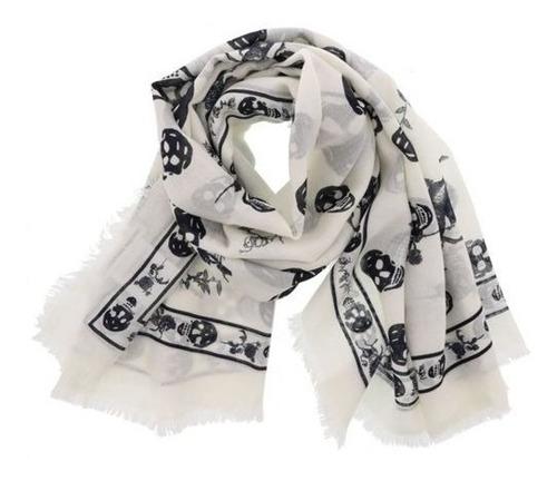 punk skull bufanda shawl wrap varias consultá stock e.gratis
