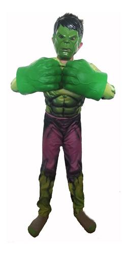 puños guantes hulk deluxe pvc espandido únicos