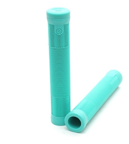 puños salt bmx ex grips ¡con bar ends! freestyle celestes