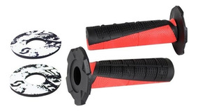 Color Rosa y Negro Scott Duece MX Pu/ños para Moto