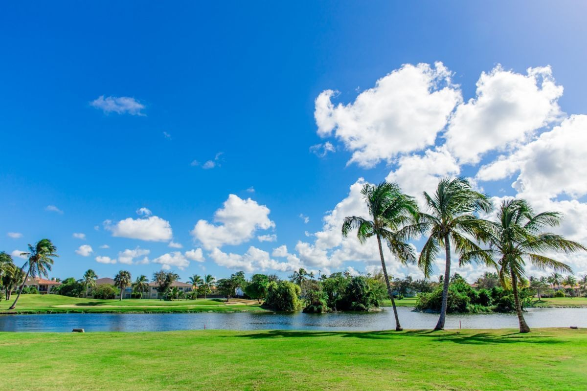 punta cana cocotal golf course apartment 3 bedrooms golf and lake view - new