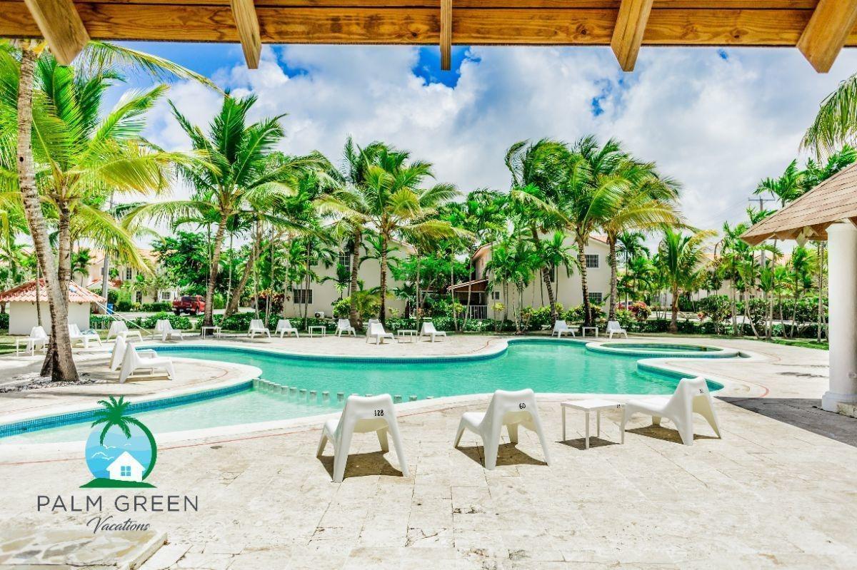 punta cana costa bavaro villa cozy duplex 5min to the beach - new