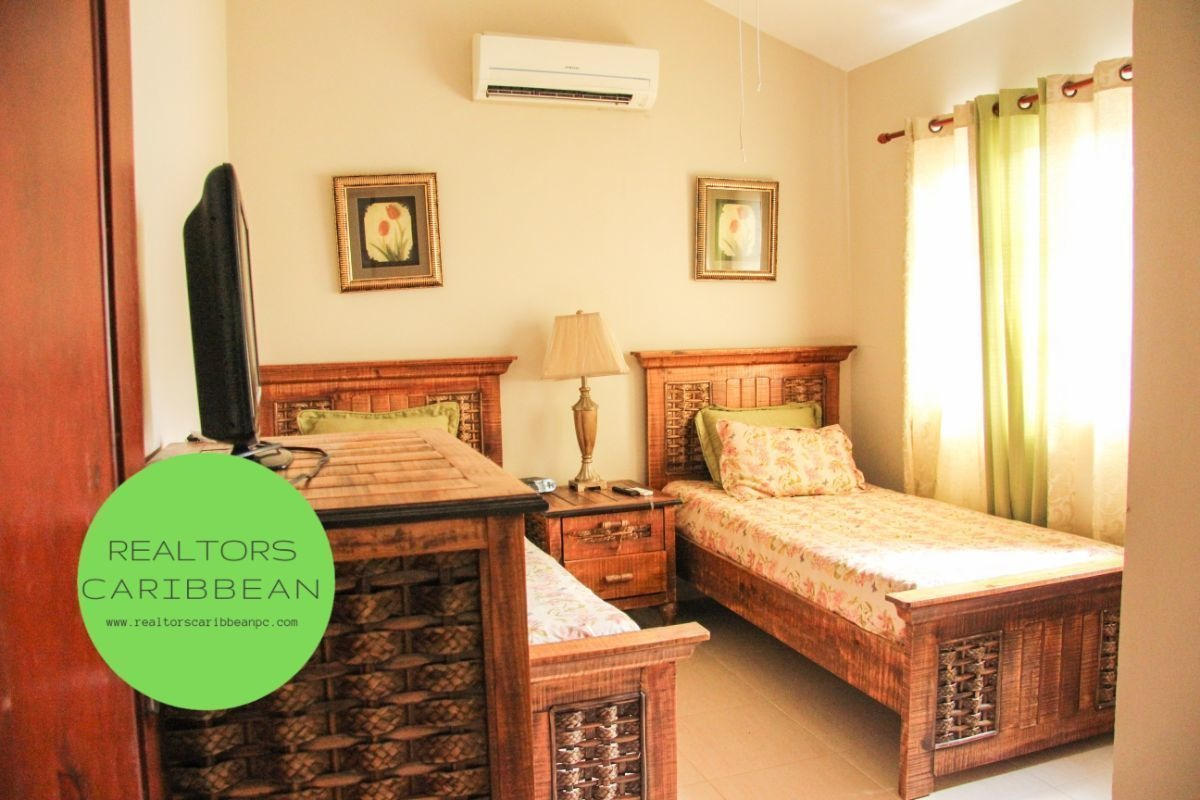 punta cana costa bavaro villa cozy duplex 5min to the beach private garden front
