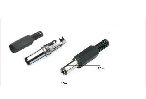 punta cargador laptop canaima 5.5 x 2.5 mm