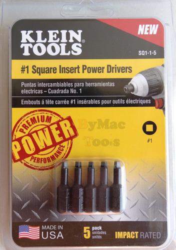 punta cuadrada no.1 de 1'' sq115 klein tools
