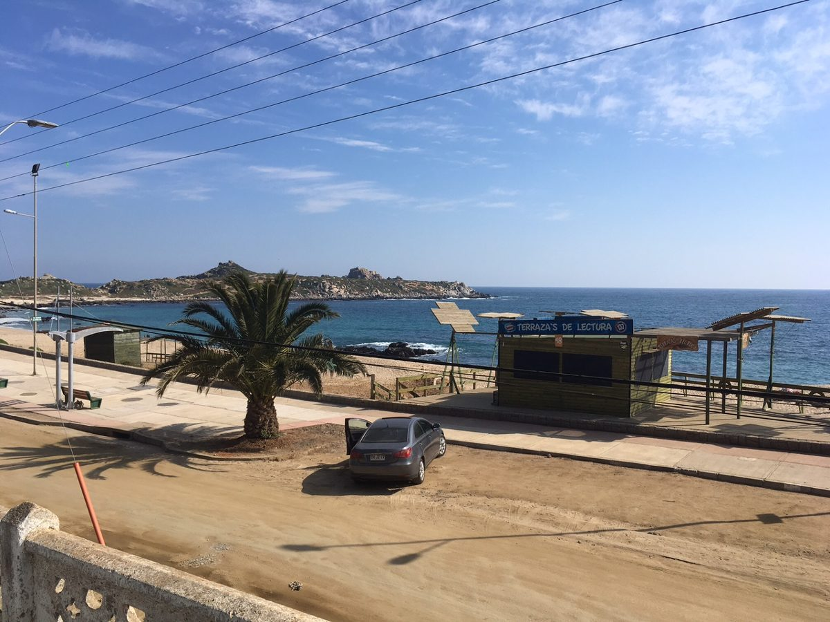 punta de tralca,22-1/mar 800mil - casa 8p frente al mar,