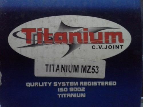 punta de tripoide mazda 1.3, kia 1.3, festiva 3372k, titaniu