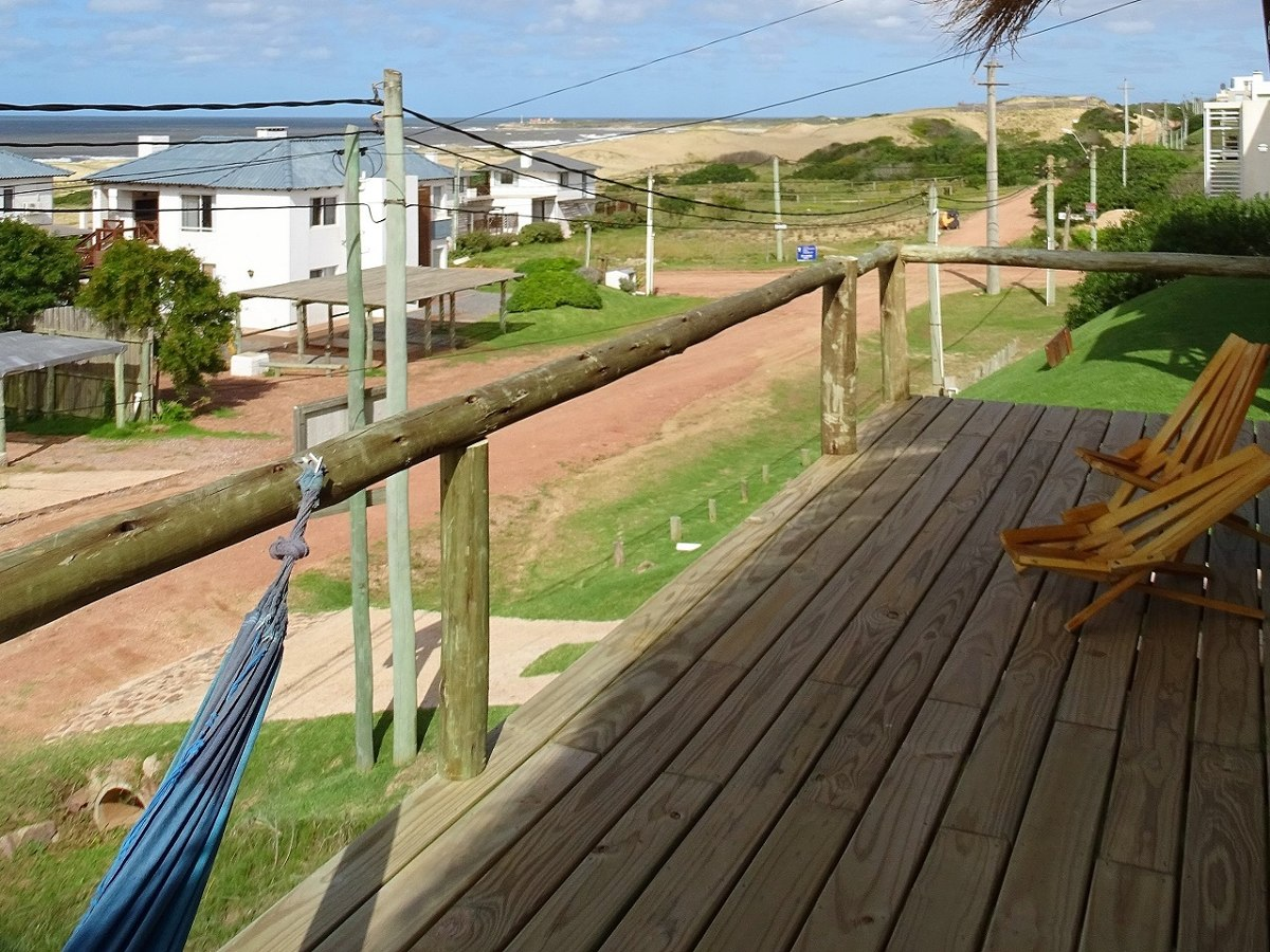 punta del diablo - cabaña praia (frente al mar)