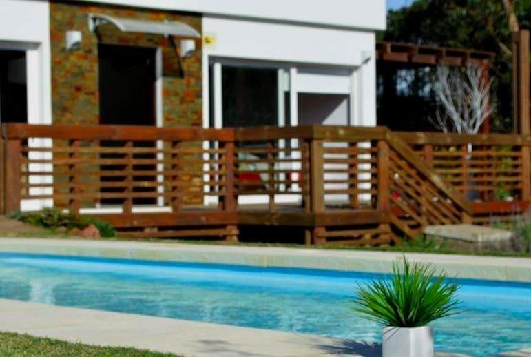 punta del este maldonado ocean park casa con piscina