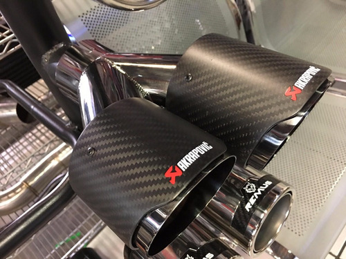 punta escape doble akrapovic auto univerzal