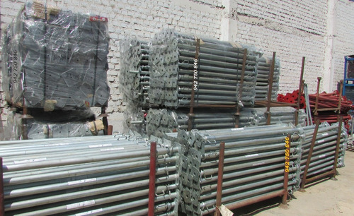 puntal nacional extendible de 2.20 a 4m - resistentes