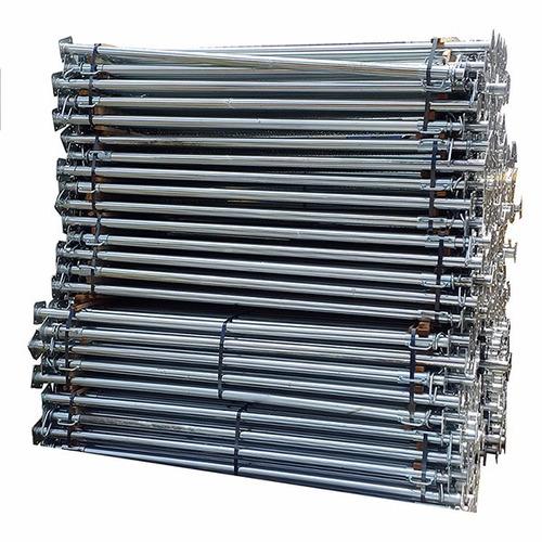 puntales galvanizados de 3mts - poseidon - incluye igv