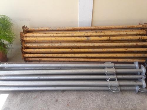 puntales metalicos de 3.5 mts
