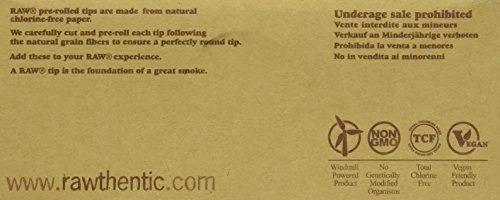 puntas de filtro pre-laminadas sin refinar naturales !