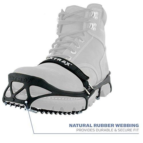 puntas de traccion yaktrax pro para caminar, correr o camina