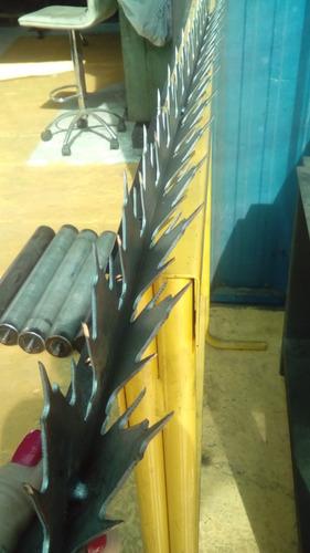 puntas  para rejas metálicas dobles 2 mm