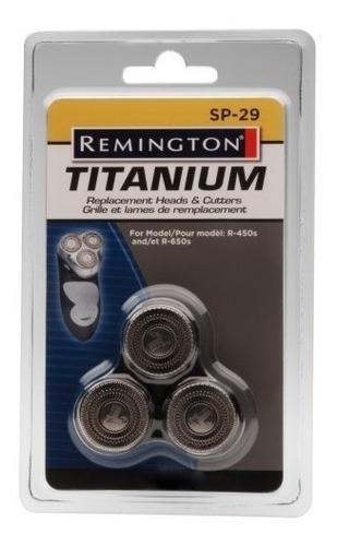 puntas y cabezales de repuesto remington sp-29, plateado