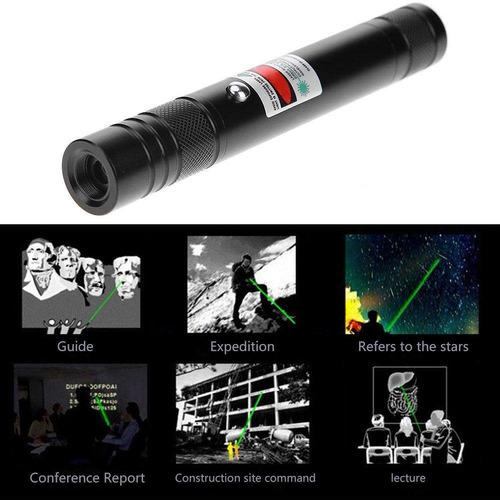 puntero laser astronómic 5000mw caleidoscopio recargable usb