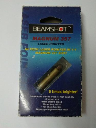 puntero laser beamshot bala magnum 357  (del 99'_en caja)