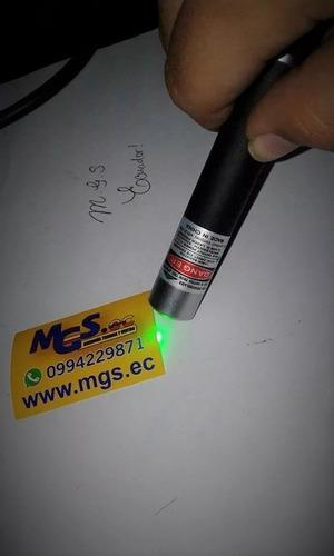 puntero láser laser color verde 5 mw señalar ptos lejanos.