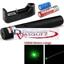 puntero laser recargable profesional 5000 mw potente 10km