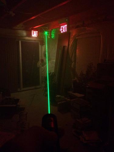 puntero laser recargable verde 5000mw hasta 10km distancia