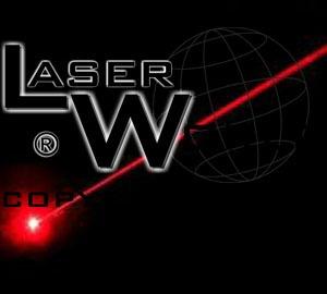 puntero láser rojo 200mw -  haz visible, gran alcance, quema