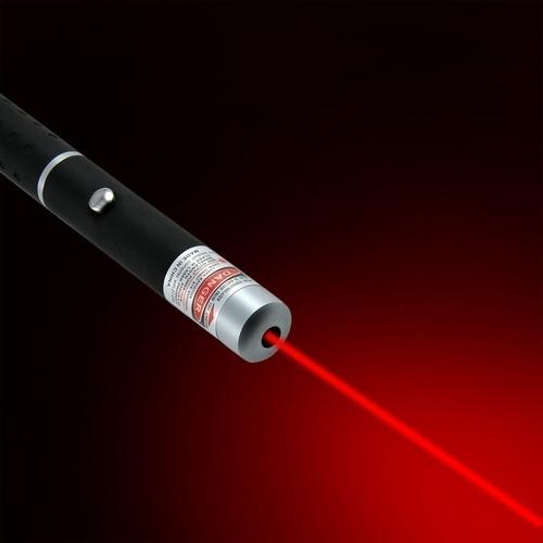puntero láser rojo de la pluma potente haz de luz