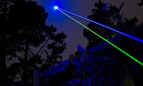 puntero laser verde 100mw - efecto lluvia +18650