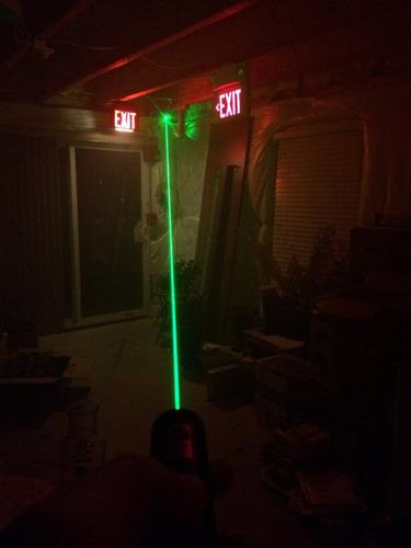puntero laser verde potente bateria cargador foco ajustable