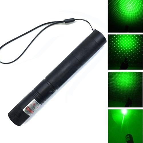puntero laser verde potente bateria usb foco ajustable !!