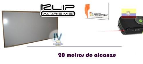 puntero laser y presentador inalambrico klip kps-010