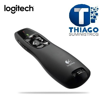 puntero logitech wireless presenter r400