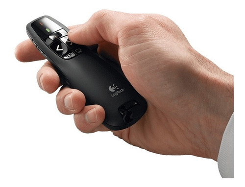 puntero presentador laser logitech r400 wireless usb oficial