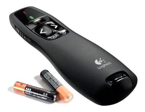 puntero presentador laser wireless presenter r400 logitech