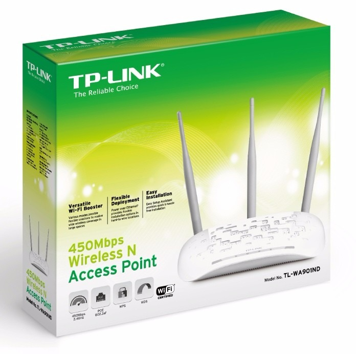 Punto acceso repetidor wifi tp link wa901nd 450mbp bonos - Repetidor wifi tp link ...