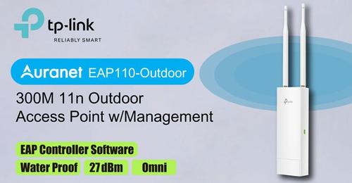 punto de acceso exterior tp-link 300mbps eap110-outdoor