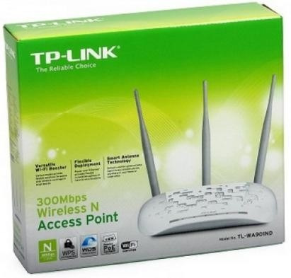 punto de acceso inalàmbrico tp-link n 300mbps  tl-wa901nd