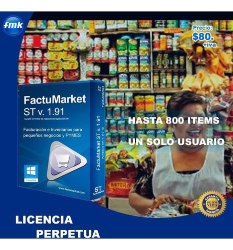 punto de venta para micromercado a $80. licencia perpetua