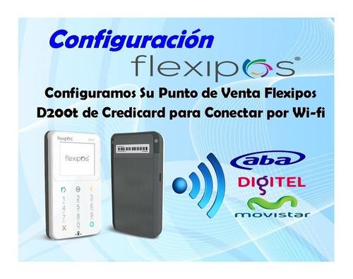 punto de venta por wifi activacion d200 s920 flexipos