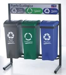 punto ecológico, contenedor