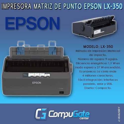 punto epson impresora matriz