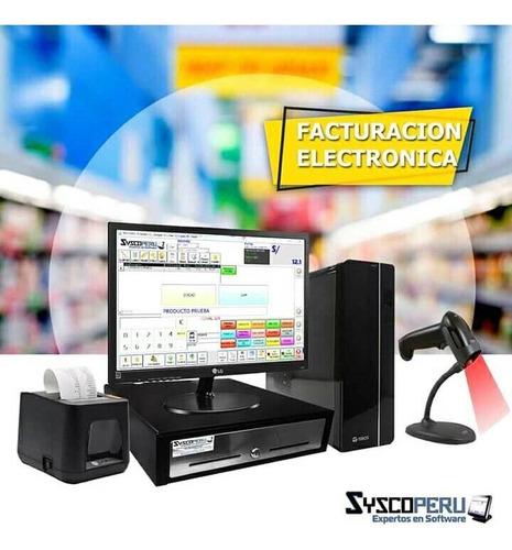 puntos de ventas caja registradora facturación electrónica