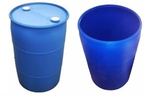 puntos ecológicos, canecas plasticas nuevas usadas, camillas