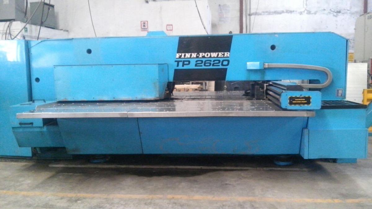 Punzonadora De Torreta Cnc Finn Power - $ 150,000 00