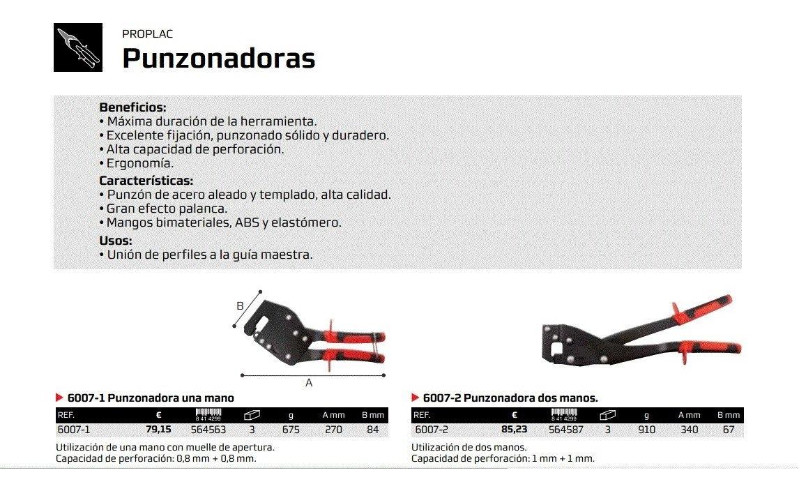 Bellota 6007 Punzonadora  para perforar perfileria