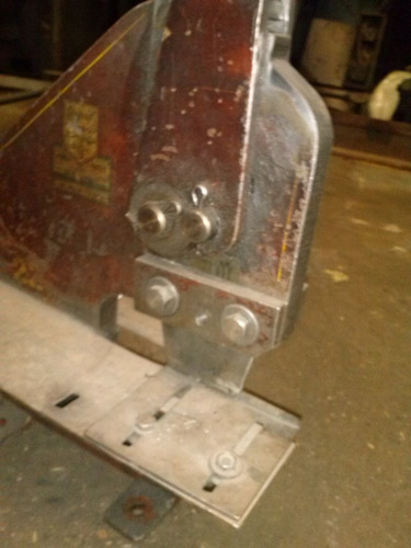 punzonadora trebol original hasta 10mm,pesada industrial