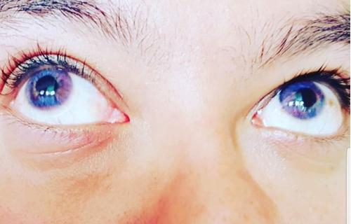 pupilente prisma premium color 6 en 1 azul y rosa