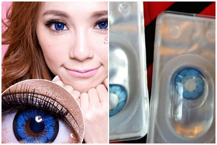 Pupilentes Anime Big Eye Barbie Ojo De Muneca Circle Lens