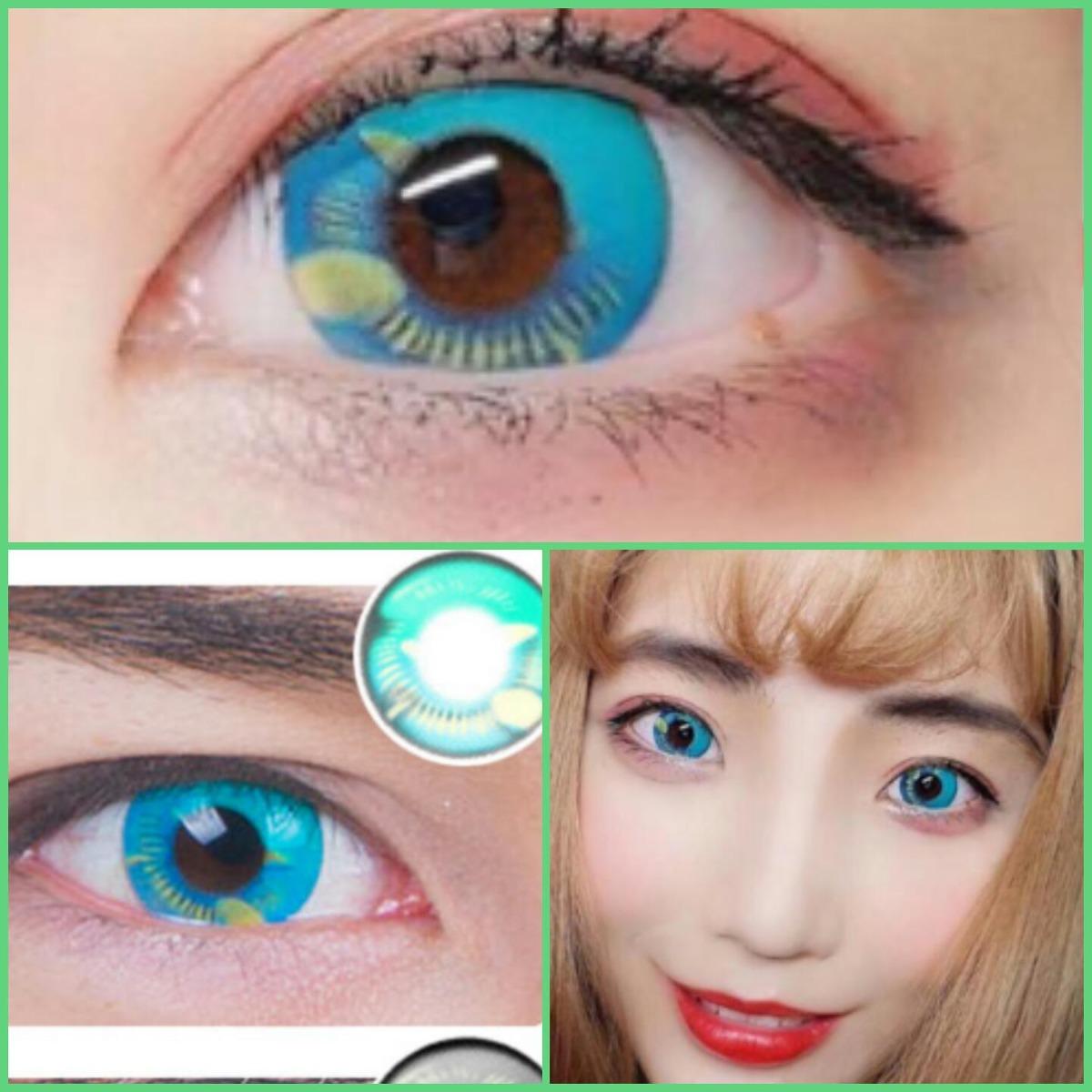 e8b639b7c169e Pupilentes Anime Cosplay Disfraz Big Eye -   350.00 en Mercado Libre
